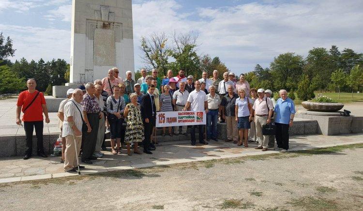 Социалистите в Хасково, Димитровград и Харманли почетоха 9-ти септември